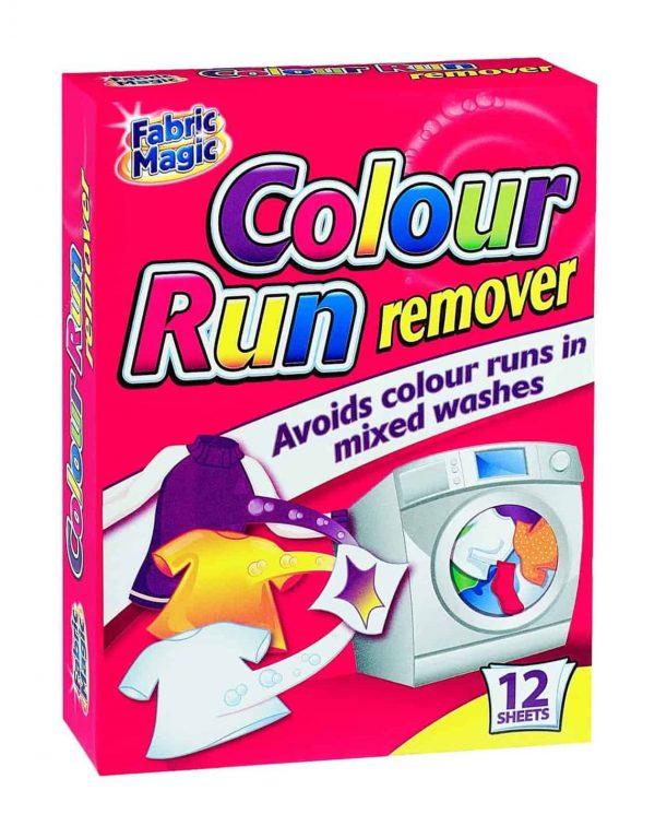 12 sheets colour run protection