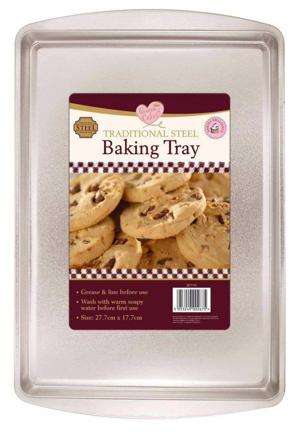 27.7cm x 17.7cm baking tray