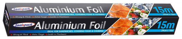 290mm x 15m aluminium tin foil