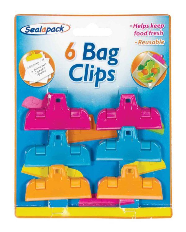 6pk storage bag clips