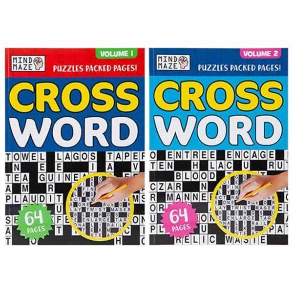 A4 bumper crossword book