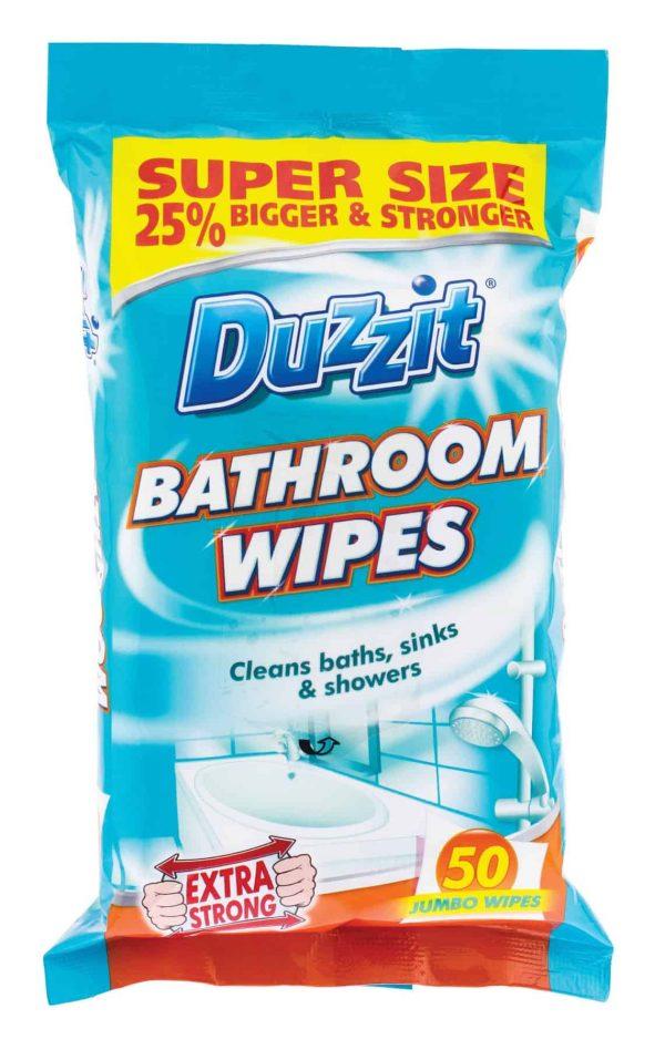 bathroom wipes