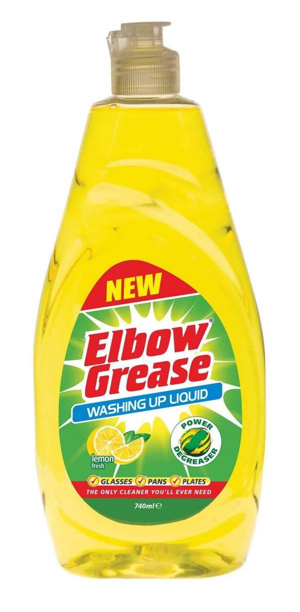 elbow grease dish soap