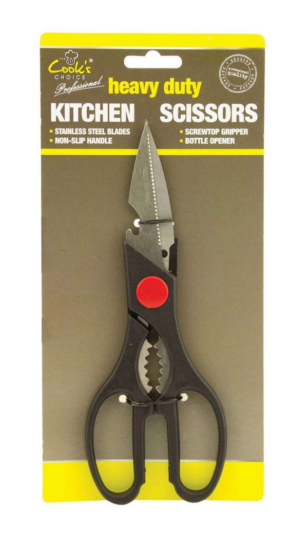Heavy duty kitchen scissors