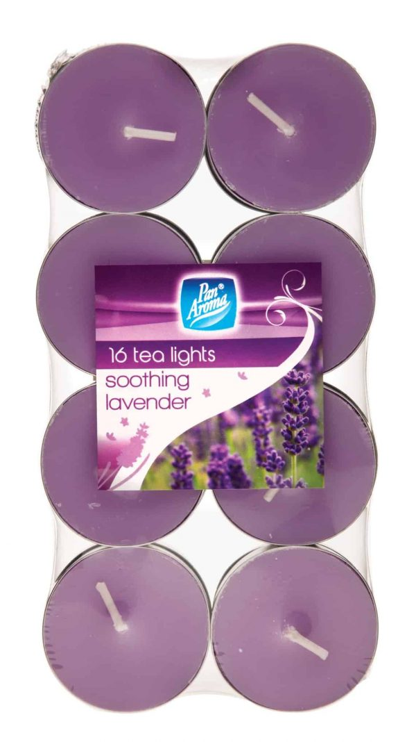 lavender tea lights