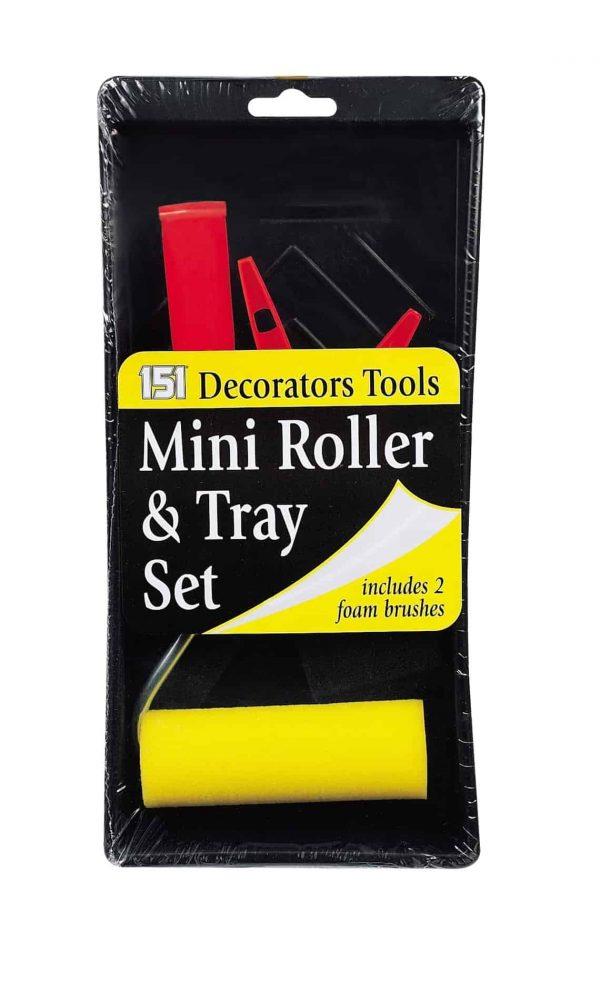 mini roller tray set