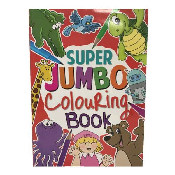 super jumbo colouring book 1.49