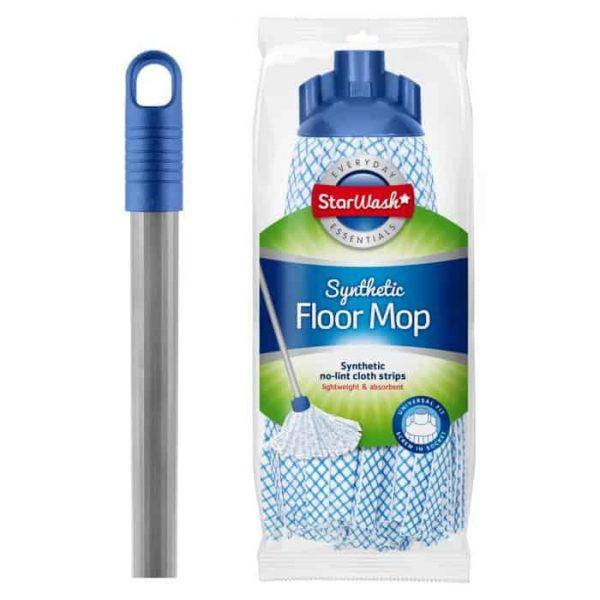 synthetic floor mop
