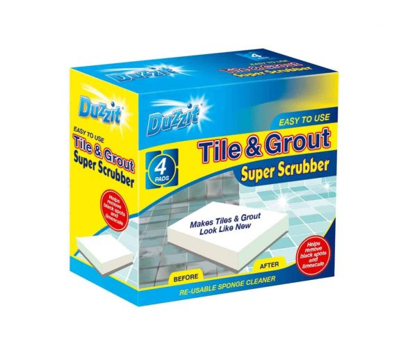 tile & grout scrubber