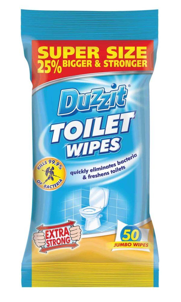 toilet wipes